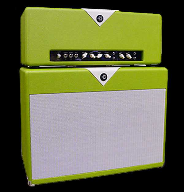 Divided By 13 - RPB 19/37 Head & 2x12 Cabinet - Green & Egg