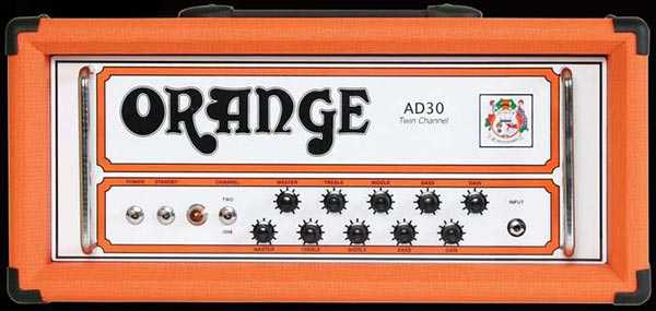 Orange AD30HTC 30 Watt Head