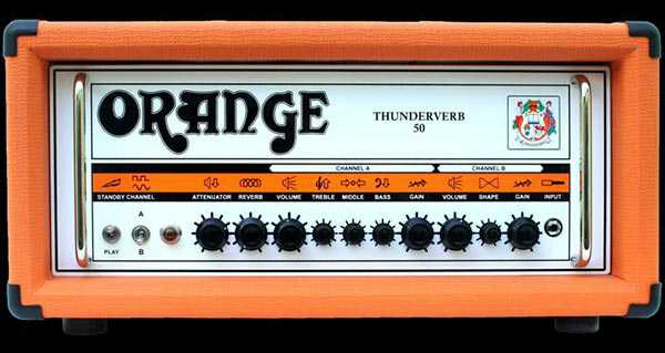 Orange Thunderverb 50 Head