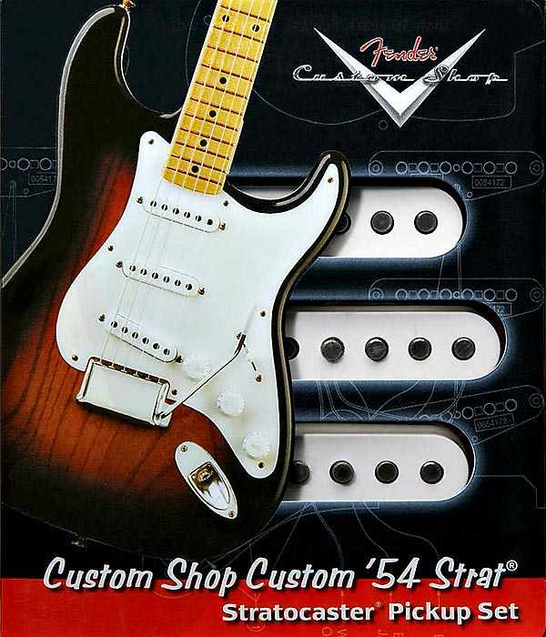 Fender Custom Shop Custom 54 Pickup Set