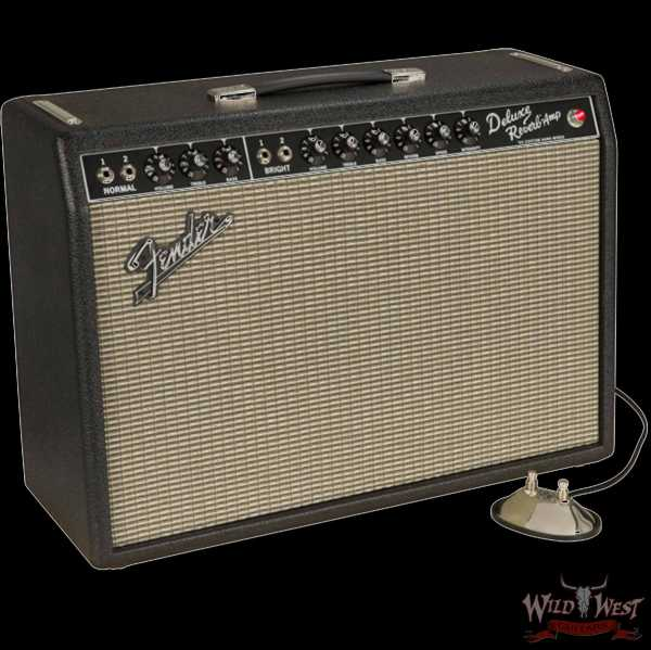 Fender USA '64 Custom Deluxe Reverb Hand-Wired 20-Watt 1x12 Combo Guitar Amplifier