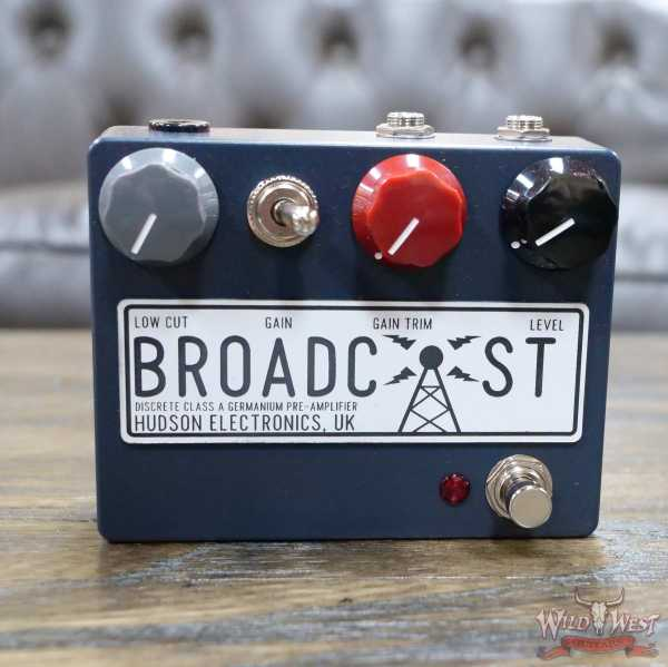Hudson Electronics Broadcast Discrete Class-A Germanium Preamplifier Overdrive Pedal
