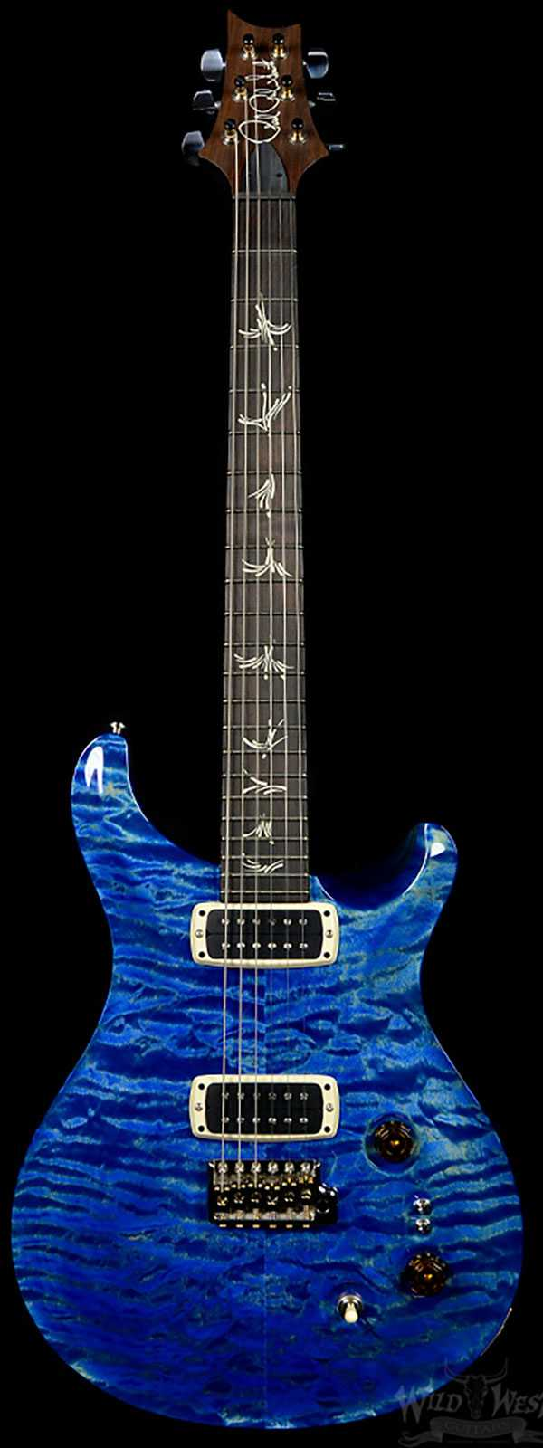 PRS Paul's Guitar Faded Blue Jean Quilt