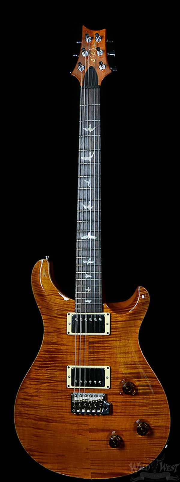 PRS 2007 Custom 22 Amber 10 Top Preowned - 051816