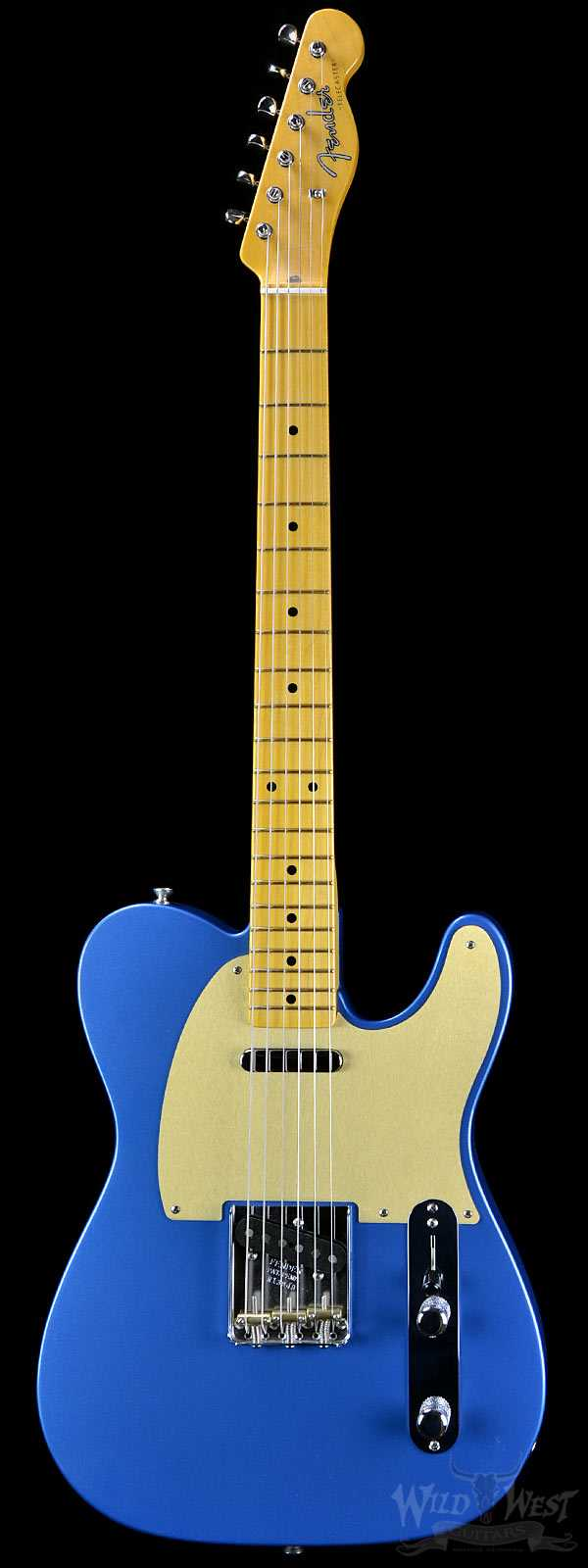 Fender 1956 Telecaster NOS Lake Placid Blue with Gold Anodized Pickguard - Preowned