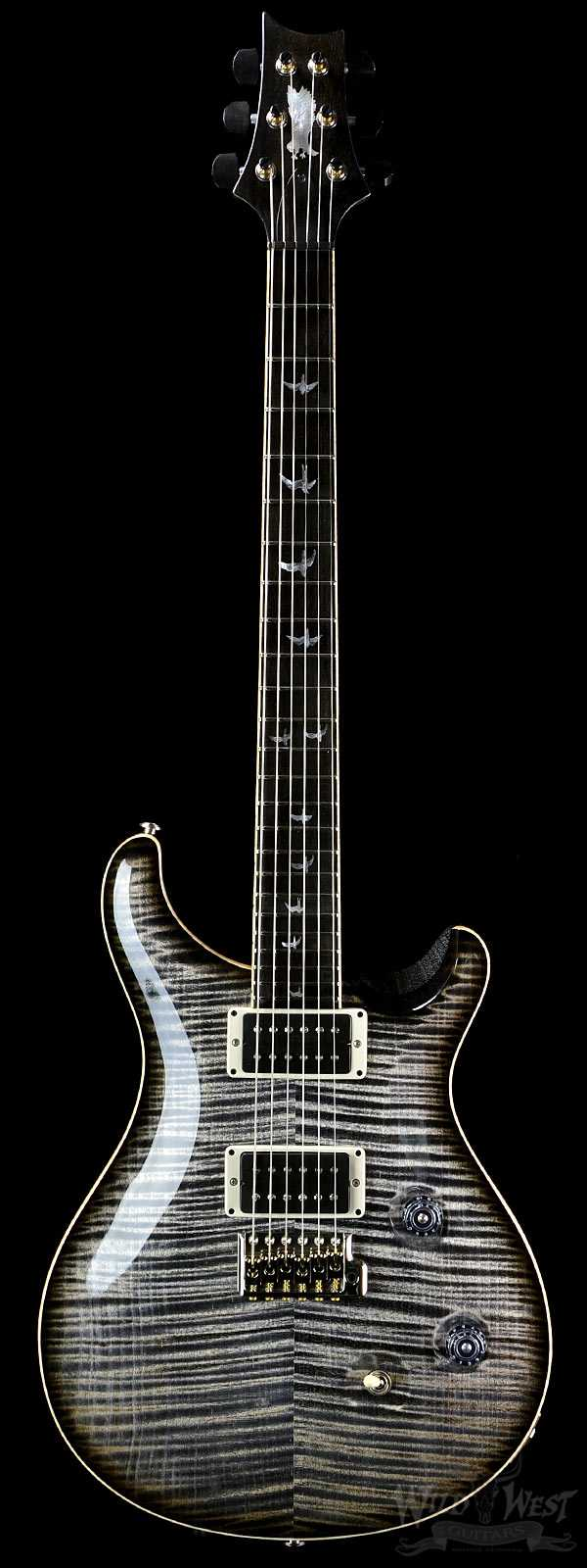 PRS Paul Reed Smith Custom 24 Private Stock 5440 Charcoal Smoked Burst