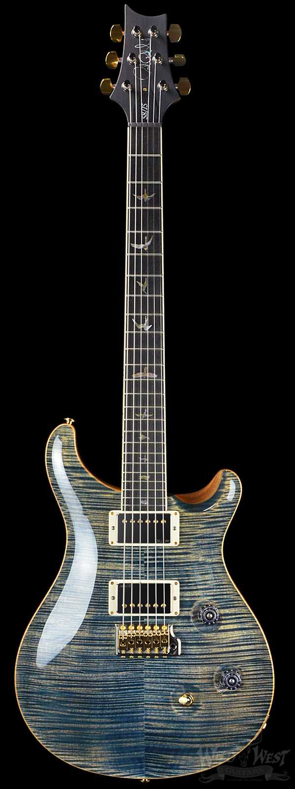 PRS Paul Reed Smith Custom 24 Limited 58/15 Faded Whale Blue Artist Grade Top - Pattern Regular