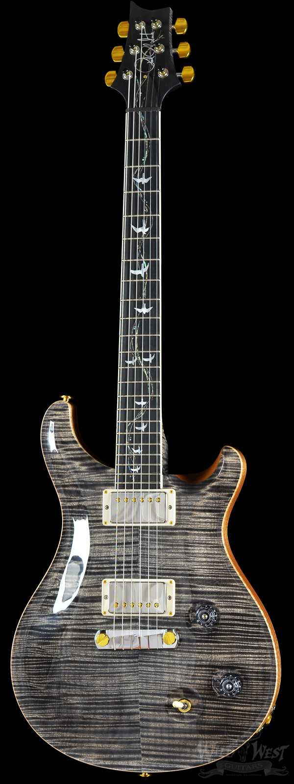 PRS Artist Package 30th Anniversary Vine McCarty Charcoal w/ Matching Flame Maple Neck