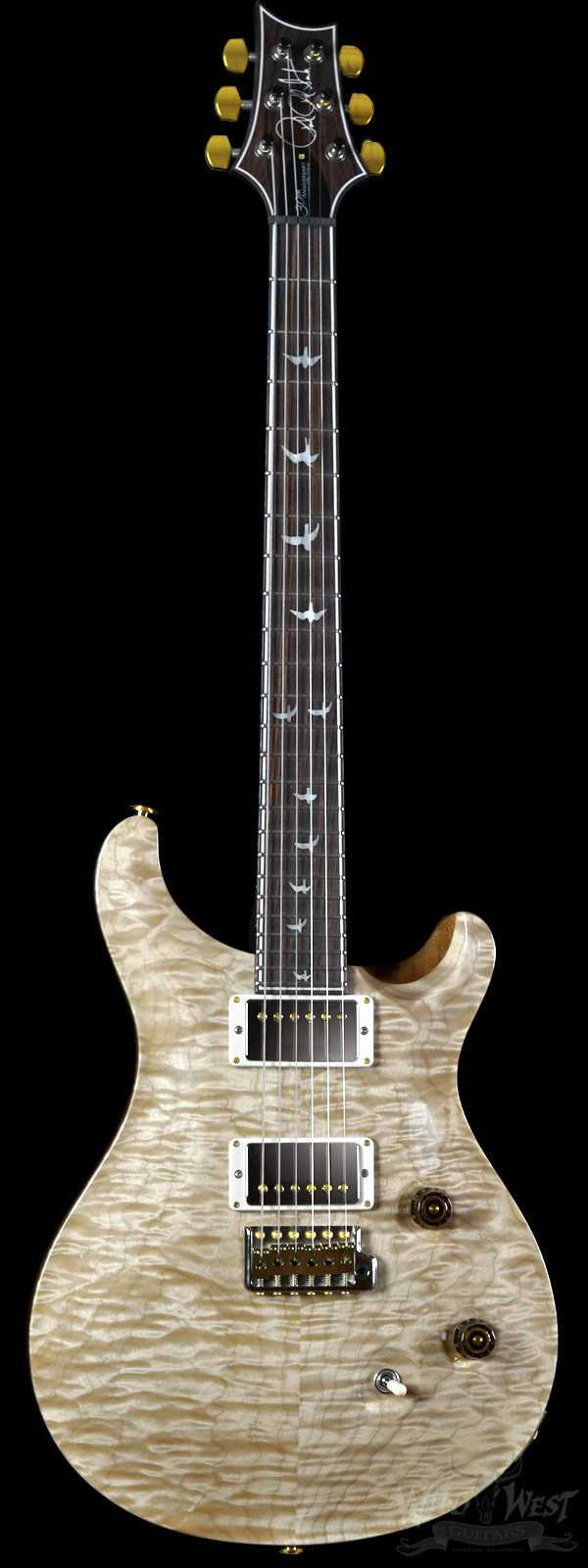 "PRS ""Perfect World"" Wood Library 30th Anniversary Custom 24 Natural w/ Rosewood Neck"