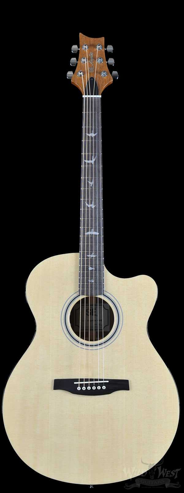 PRS SE Angelus A20E Acoustic-Electric Mahogany Back and Sides