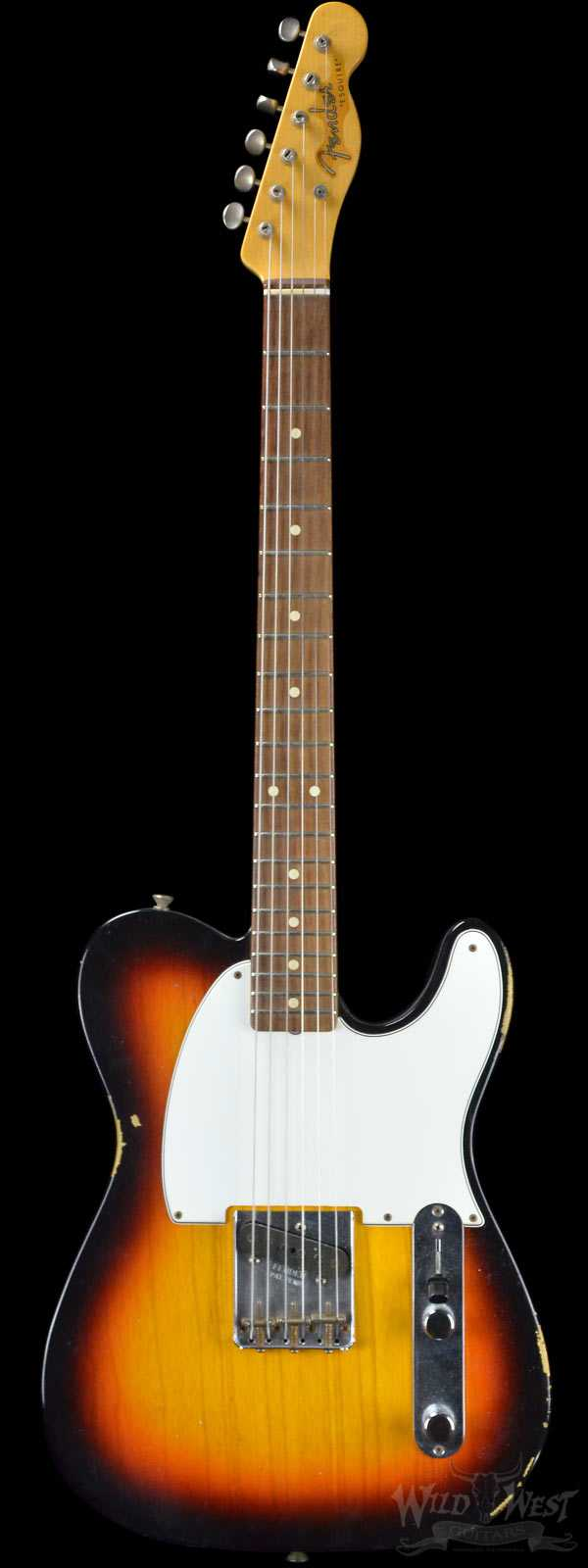2013 Fender Custom Shop 1959 Relic Esquire Ash Body 3 Tone Sunburst