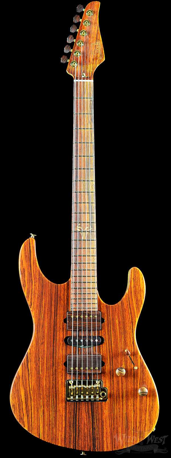 Suhr Collection 2016 Cocobolo Modern #061