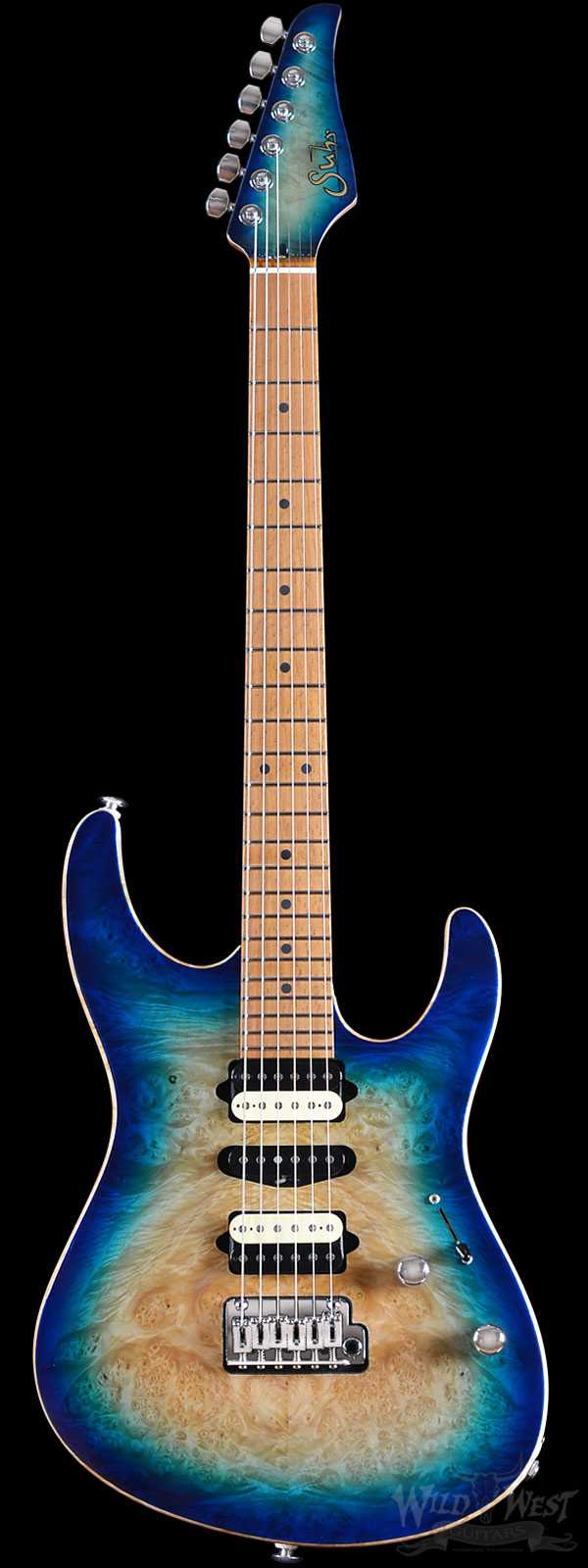 Suhr Custom Modern Oceanside Burst w/ White Back
