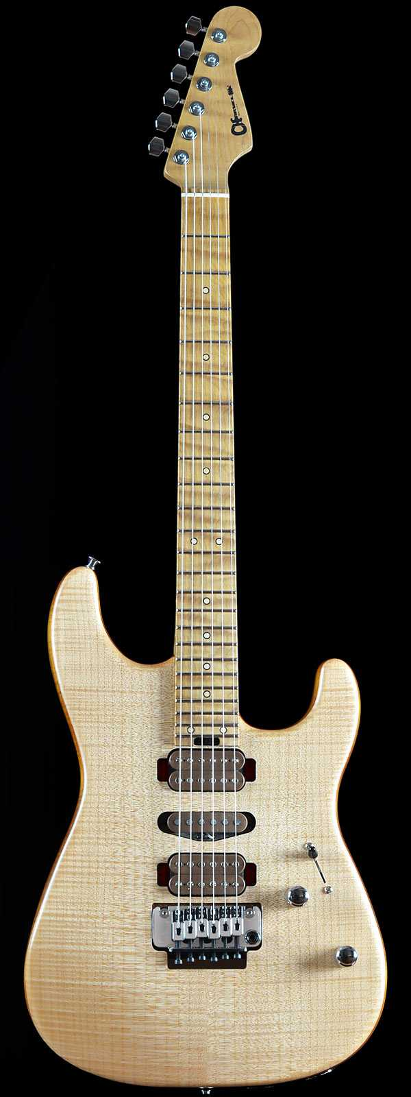 Charvel Guthrie Govan Signature San Dimas Flame Maple - Caramelized Basswood