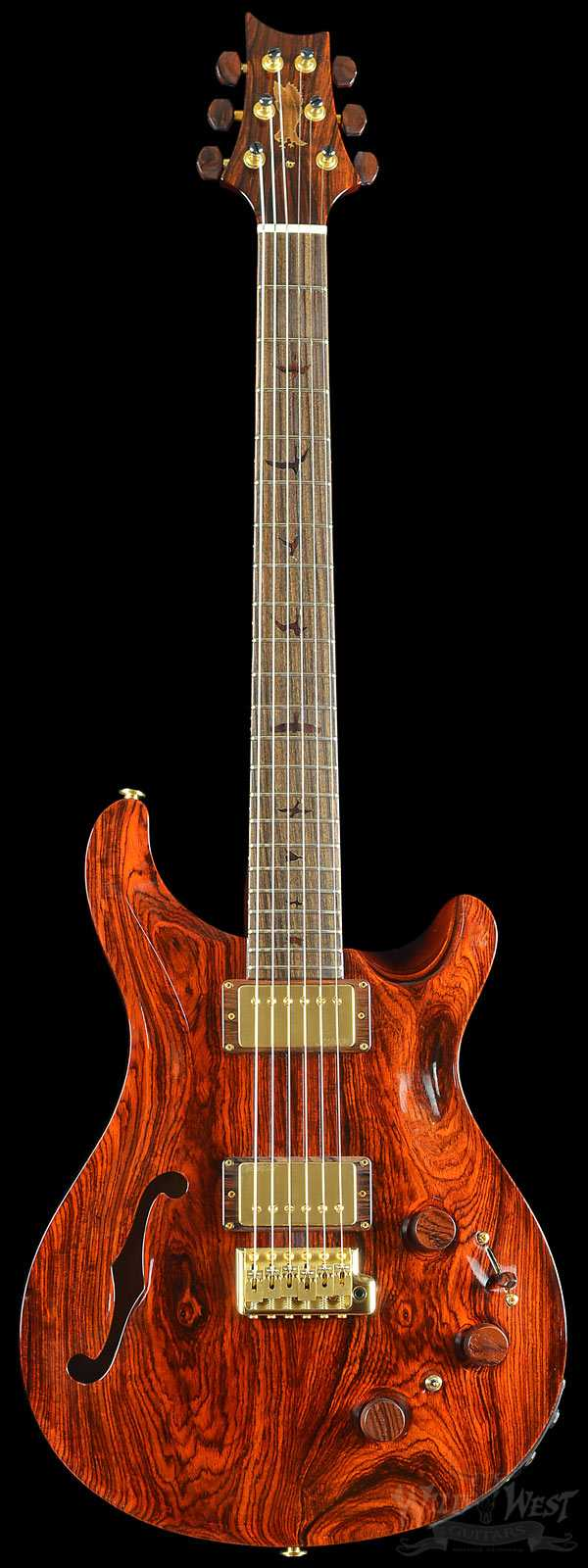 PRS Private Stock #5456 P22 Trem Semi-Hollow with F-Hole Cocobolo Top