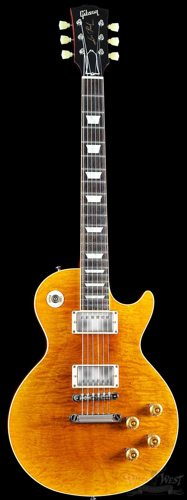 2014 Gibson Custom Shop Les Paul 1959 R9 Reverse Burst Gloss