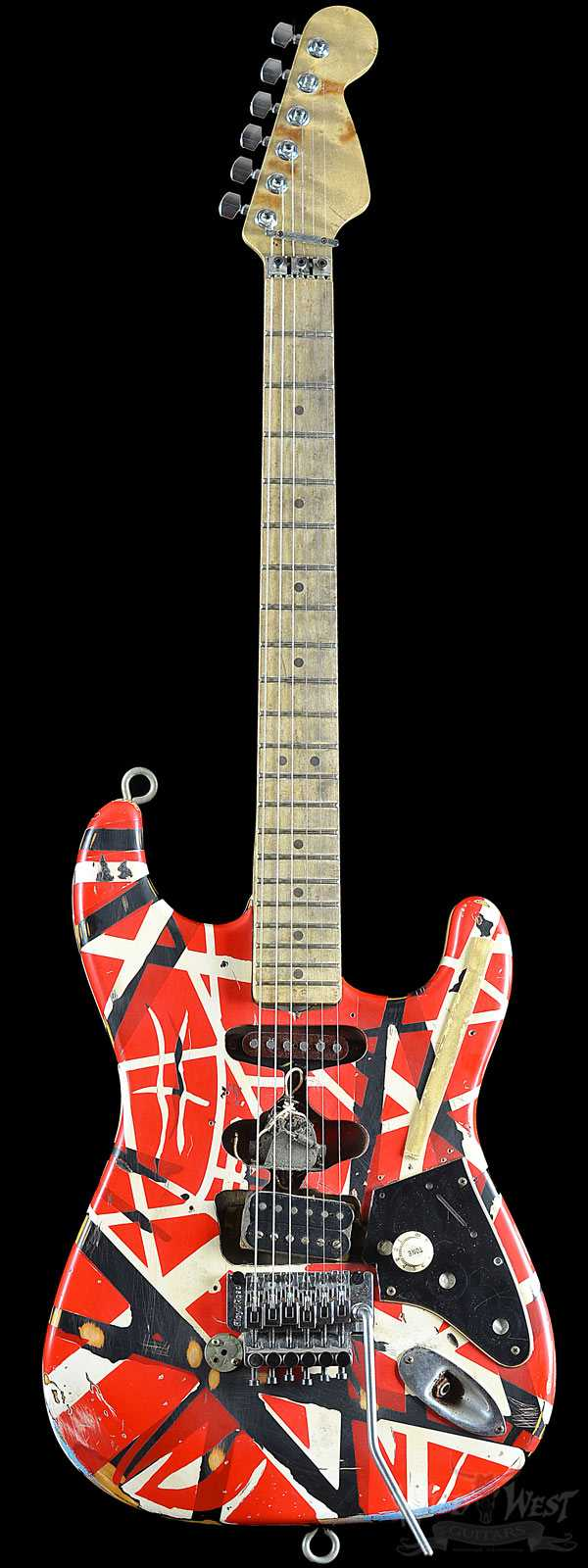 2007 EVH The Eddie Van Halen Frankenstein Replica Guitar