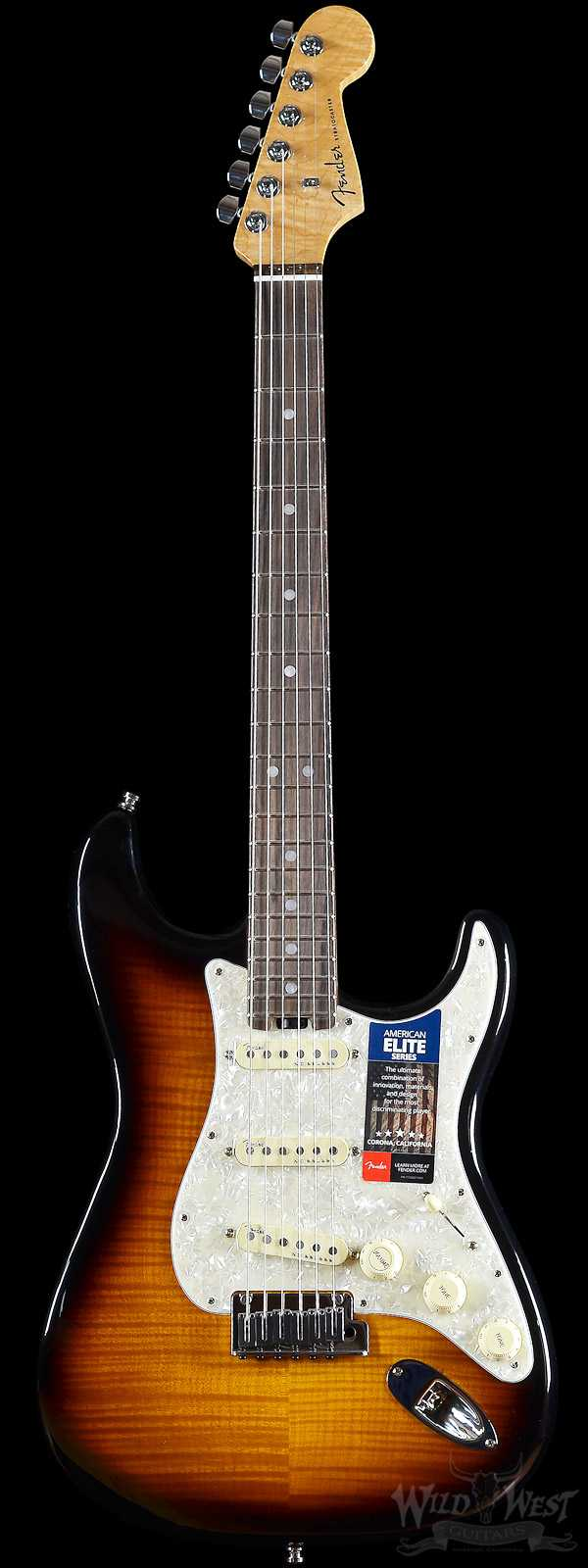 Fender Limited Edition Magnificent 7 American Lite Flame Top Stratocaster Two Color Sunburst