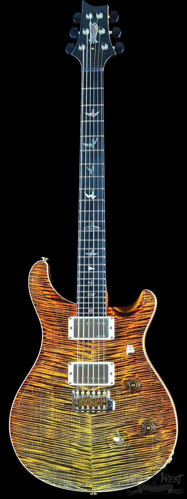 PRS Private Stock #6134 Custom 24 Voodoo Tiger Dragon's Breath
