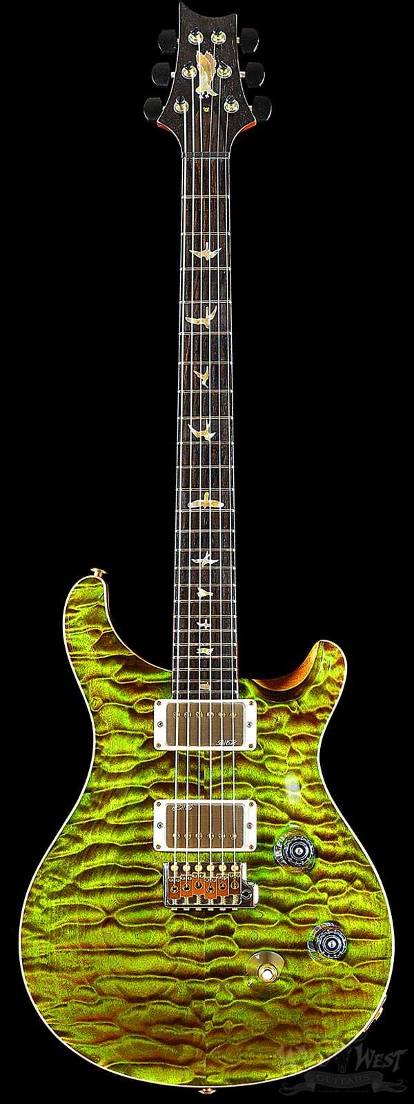 PRS Private Stock #6139 Custom 24 Quilted Maple Bull Frog