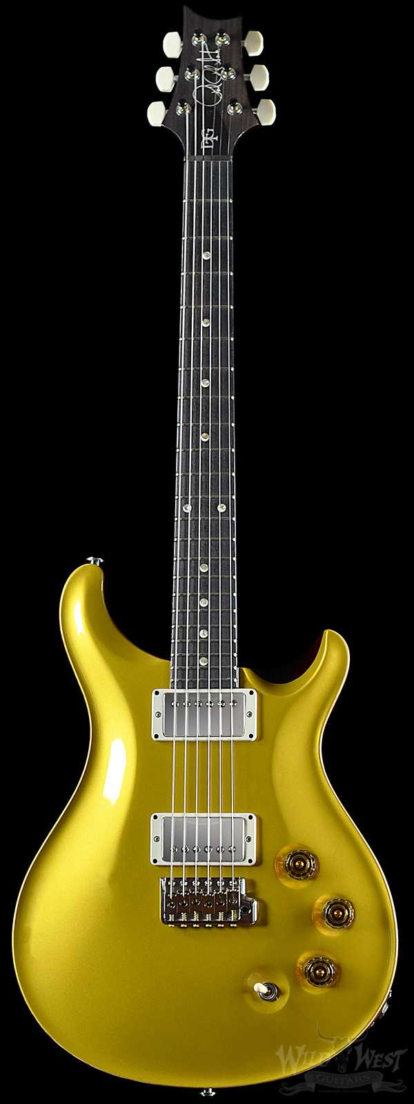 PRS DGT (David Grissom Trem) Gold Top with Moon Inlays