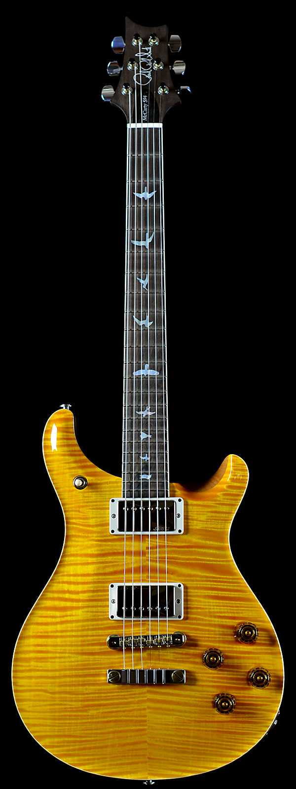 PRS Wood Library Ltd Artist Package McCarty 594 Indian Rosewood Neck Santana Yellow