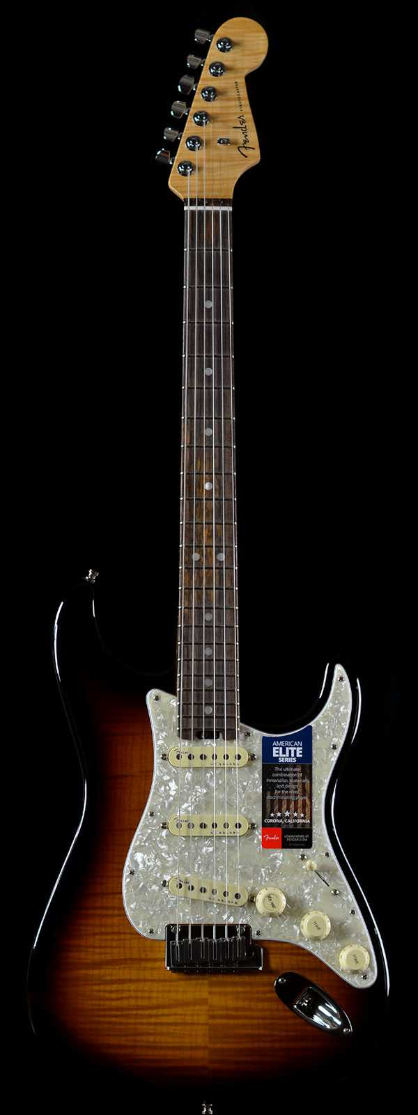 Fender Limited Edition American Elite Stratocaster 2-Color Sunburst