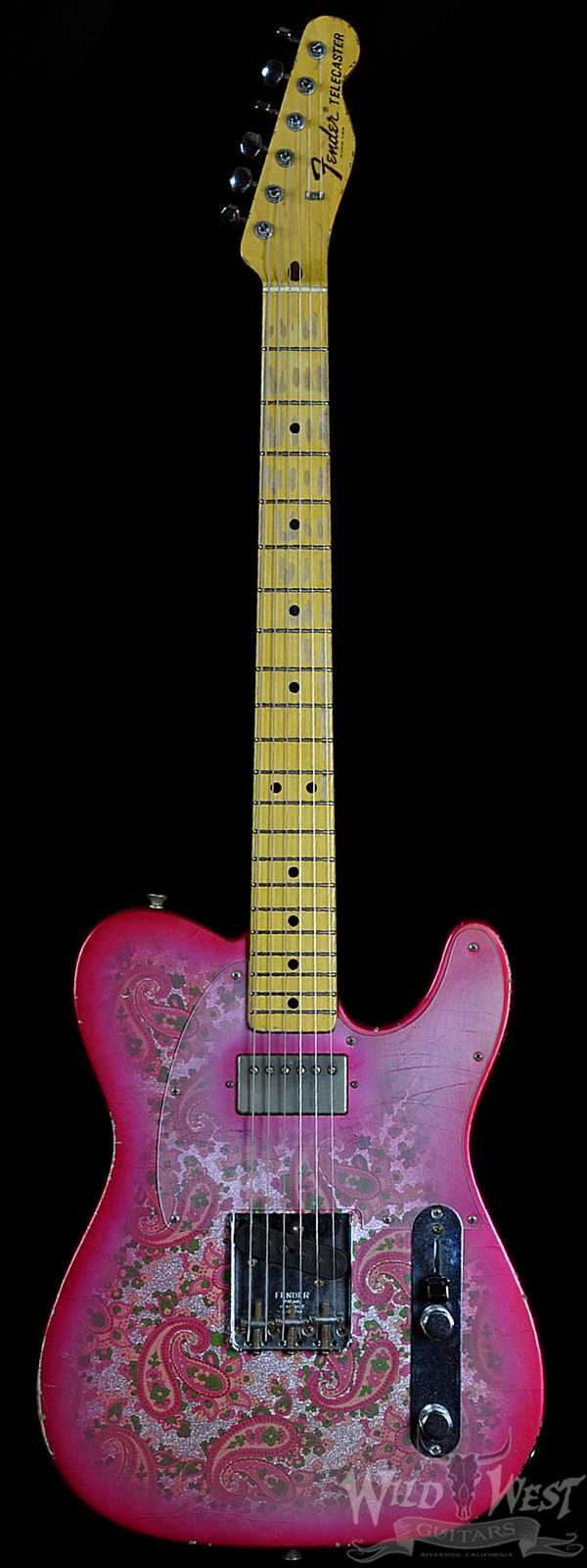 Fender Masterbuilt Relic 1968 Pink Paisley Telecaster by Jason Smith