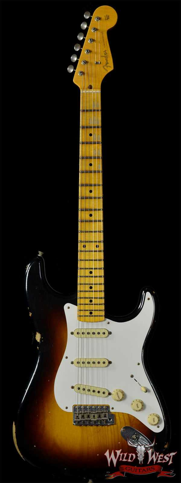 Fender 1958 Relic Stratocaster 2-Tone Sunburst w/Quarter Sawn Maple Neck