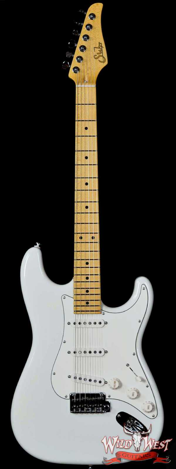 Suhr Classic Pro SSS Maple Board Olympic White