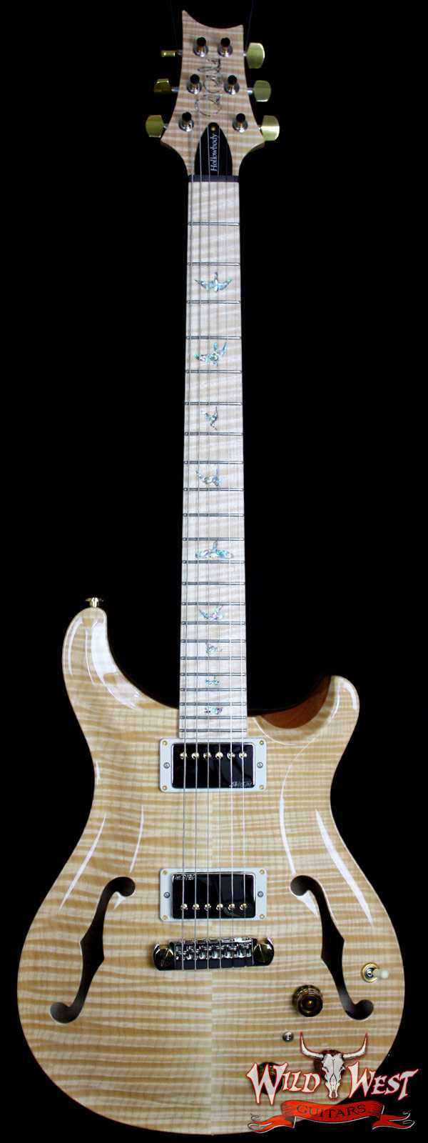 PRS Paul Reed Smith Hollowbody II Artist Package Flame Natural