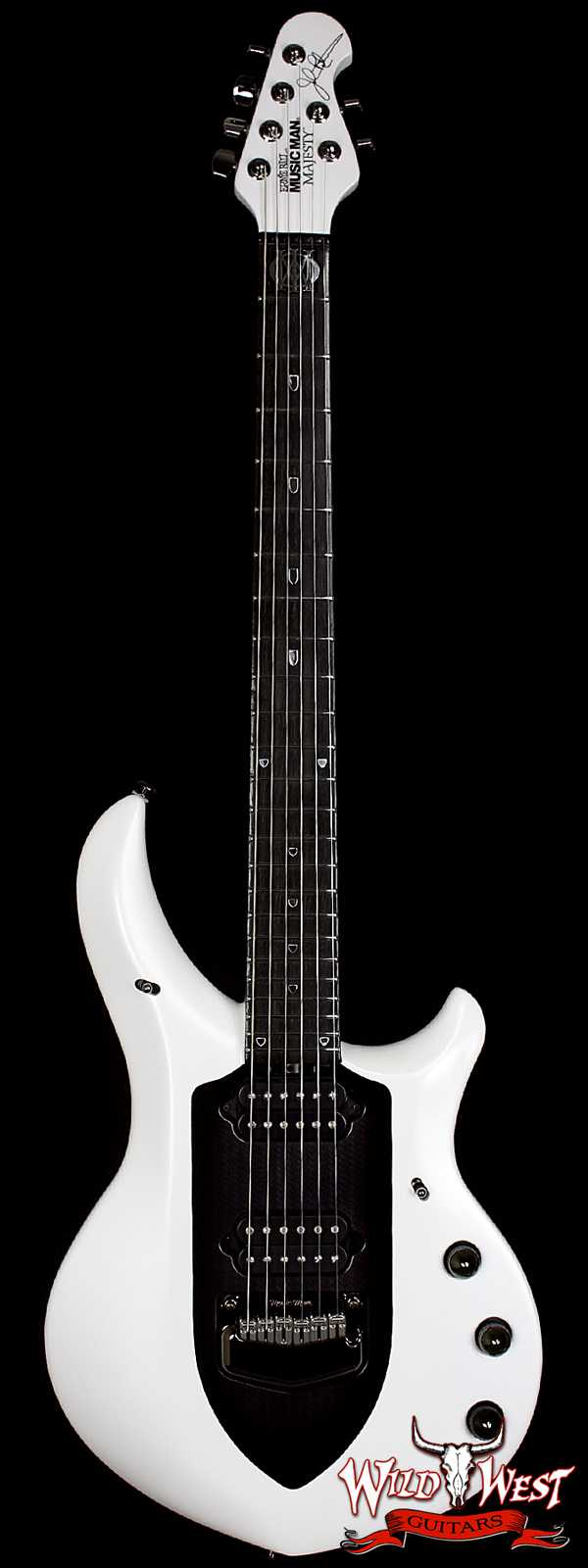 Ernie Ball Music Man Majesty Glacial Frost