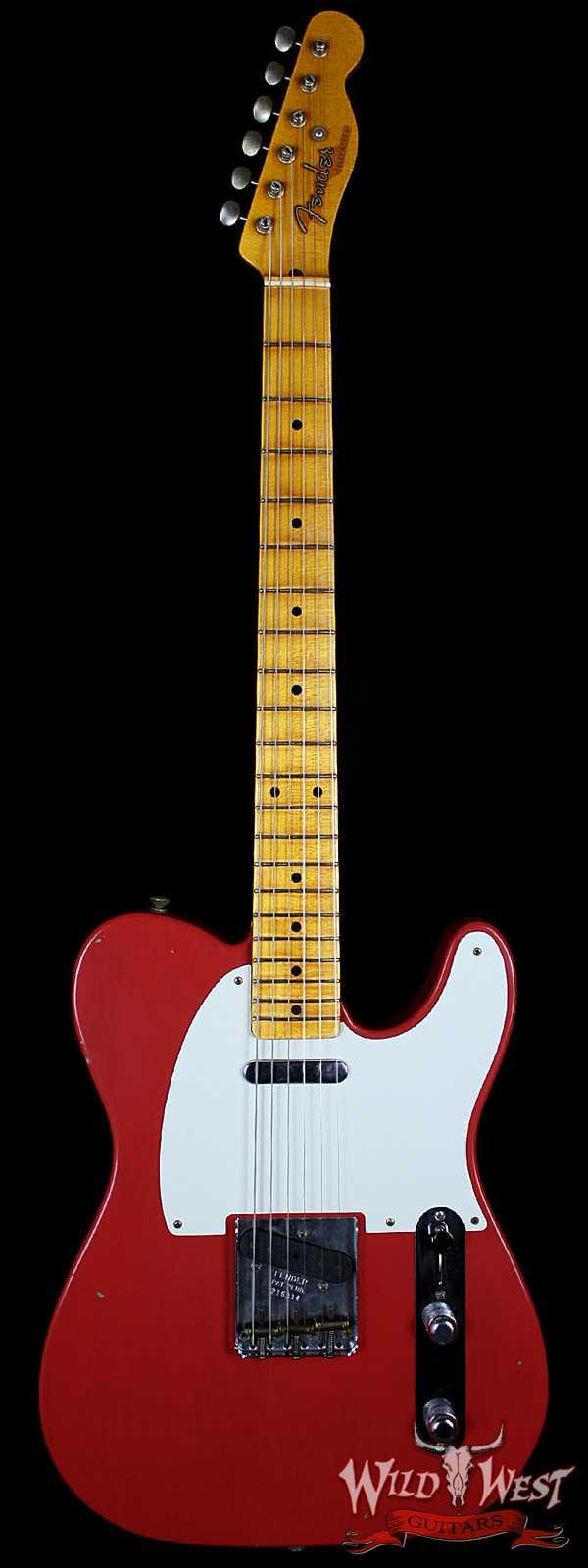 Fender Masterbuilt Journeyman 1950`s Telecaster Fiesta Red by Yuriy Shishkov