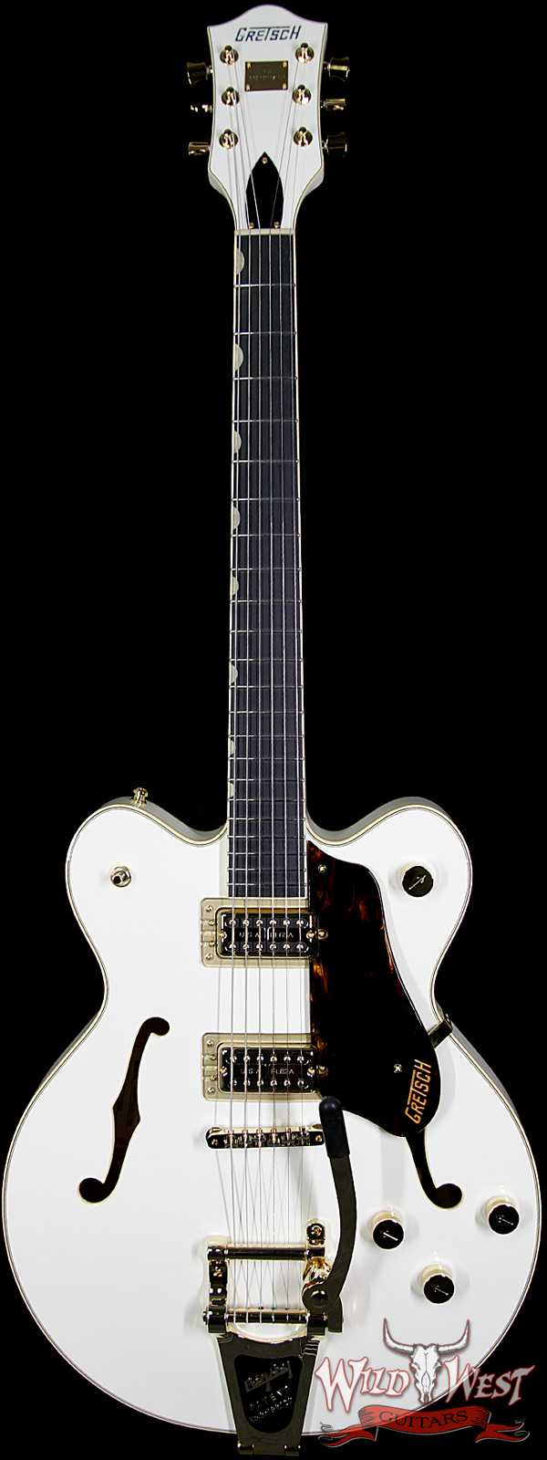 Gretsch Players Edition Broadkaster Center Block Double-Cut String-Thru Bigsby G6609TG-VWT