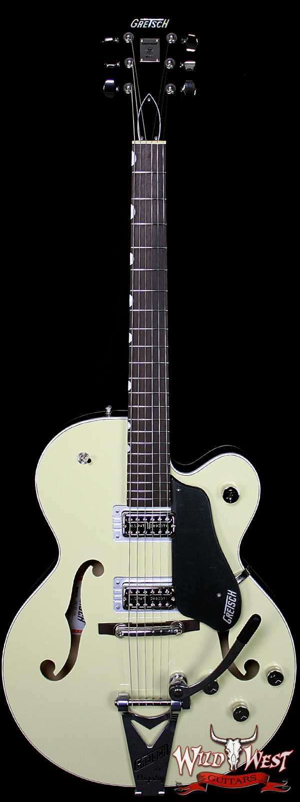 Gretsch Players Edition Anniversary with String-Thru Bigsby G6118T Lotus Ivory