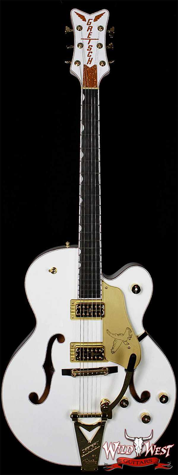 Gretsch Players Edition Falcon with String-Thru Bigsby Filter'Tron Pickups G6136T-WHT