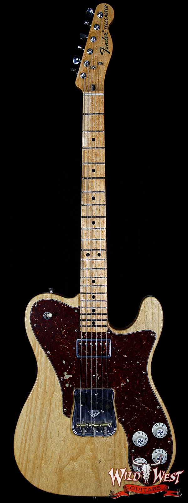 Fender Custom Shop Masterbuilt 72 Telecaster J-Man by Paul Waller Natural