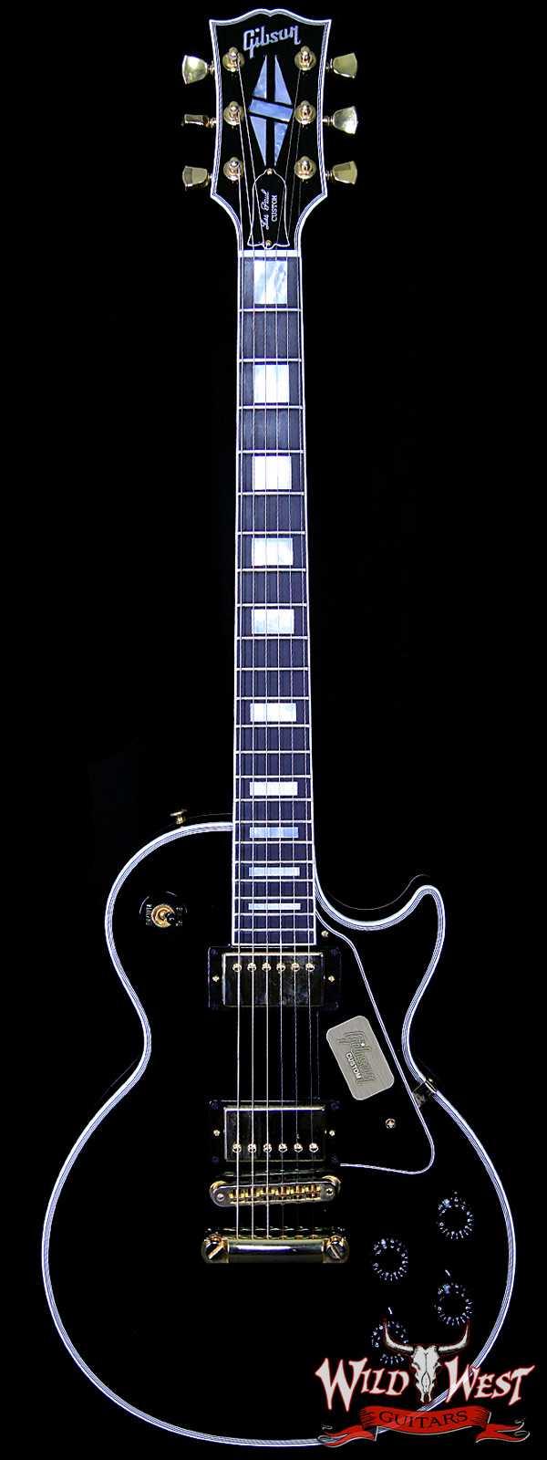 2013 Gibson Custom Shop Les Paul Custom Black