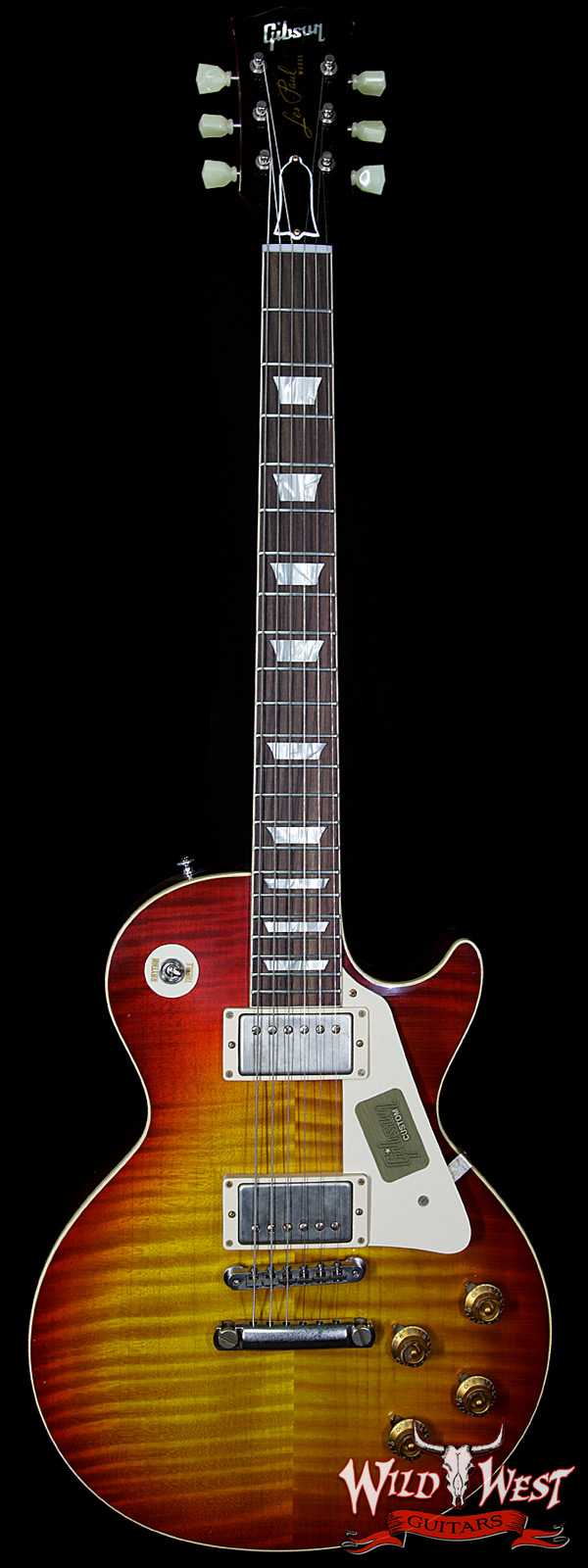 2016 Gibson Custom Shop Les Paul R9 Aged Washed Cherry Preowned