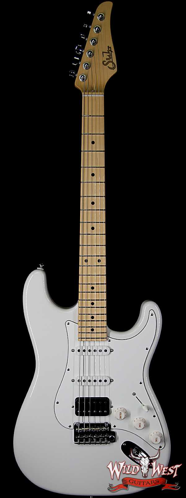 Suhr Classic S (Classic Pro) HSS Maple Neck & Fingerboard Olympic White