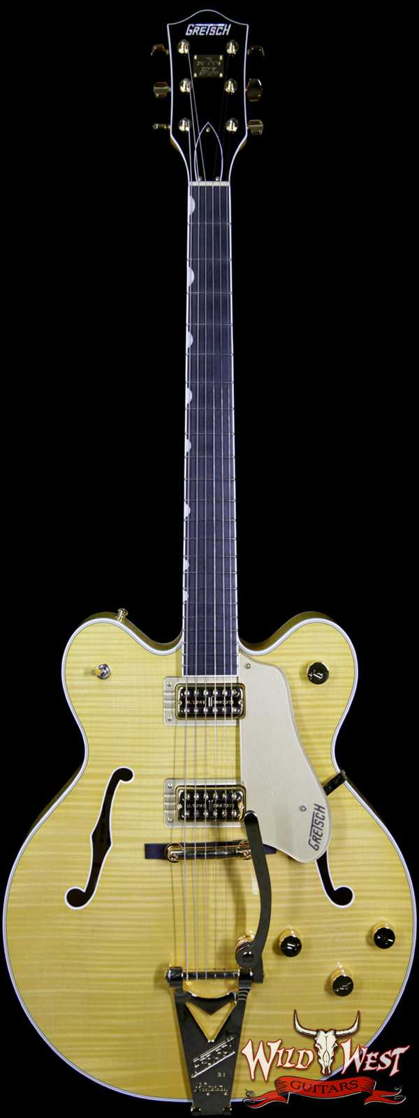 Gretsch G6122TFM Players Edition Country Gentleman with Bigsby Filter Tron Pickups Amber Stain