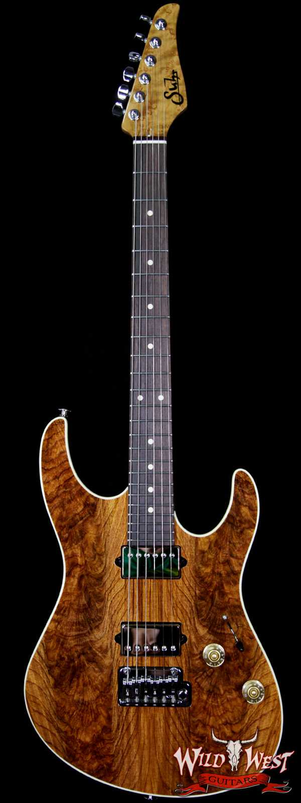 Suhr Modern HH Guatamalan Rosewood Top Basswood Body Roasted Birdseye Maple Neck Natural