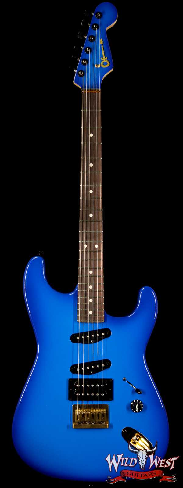 Charvel USA Jake E Lee Signature Blue Burst HSS Rosewood Fretboard Blue Burst