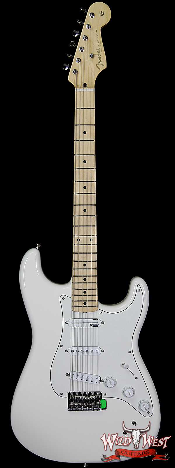 2018 NEW Fender Ed O'Brien Signature EOB Sustainer Stratocaster Olympic White