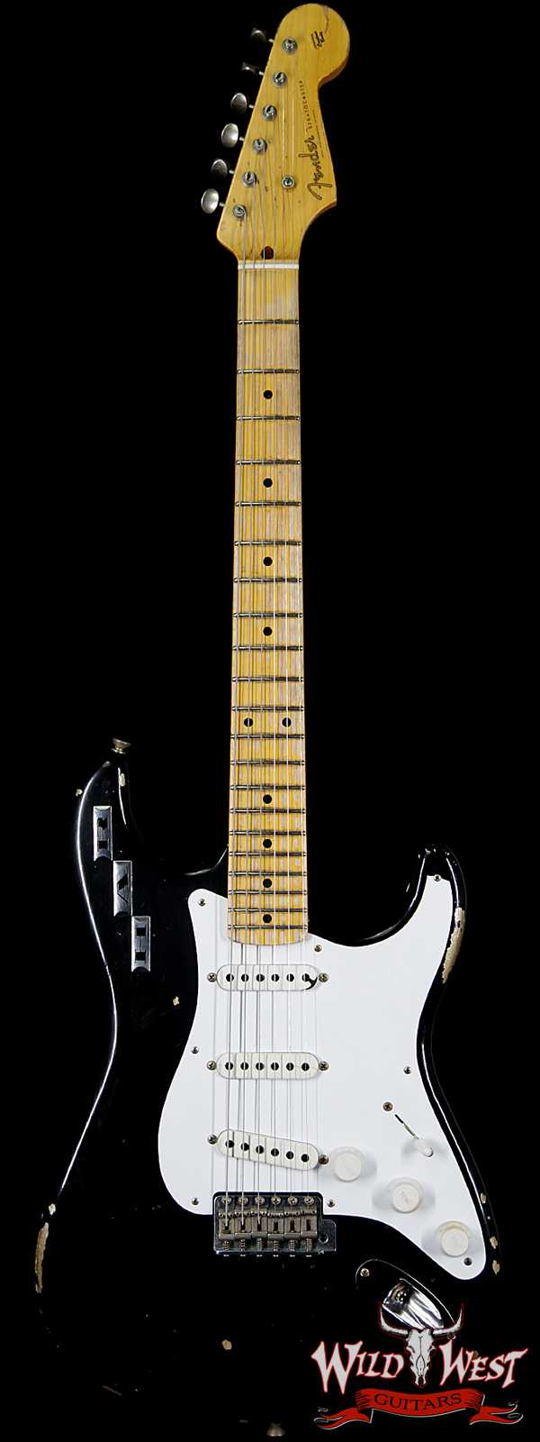 Fender Custom Shop Masterbuilt Dennis Galuszka Private Collection HAR Stratocaster Black 7.25 Lbs