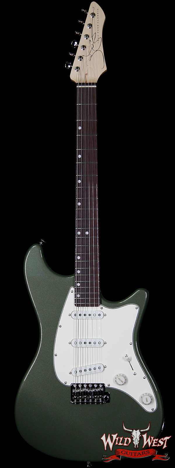 John Page Classic ​Ashburn SSS Rosewood Fingerboard Maple Neck Cadillac Green