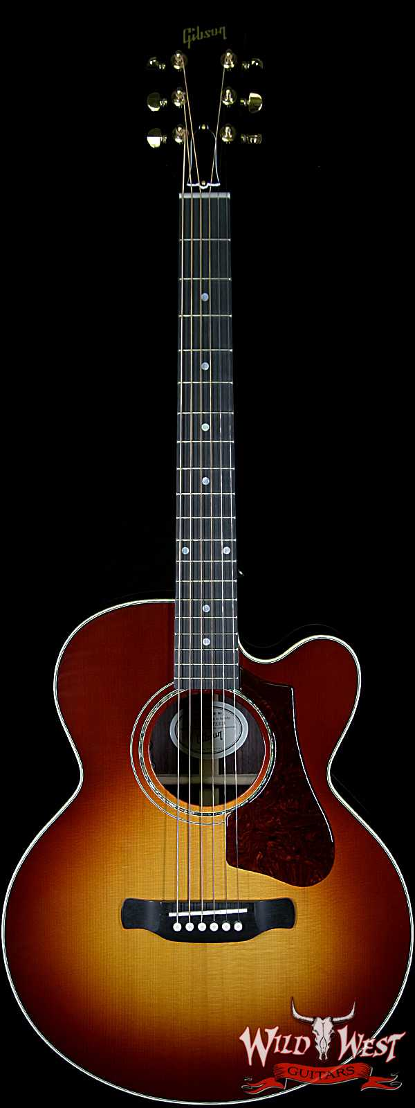 2018 Gibson Montana Parlor Rosewood AG(Avant Garde) Cutaway Acoustic Electric Sunset Burst