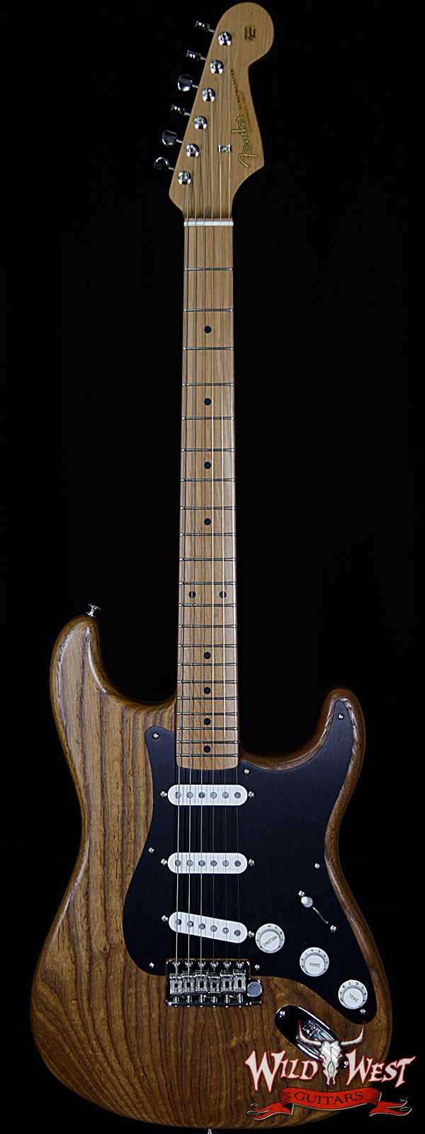 Fender USA FSR American Vintage Limited Edition '56 1956 Stratocaster Roasted Natural V1741673