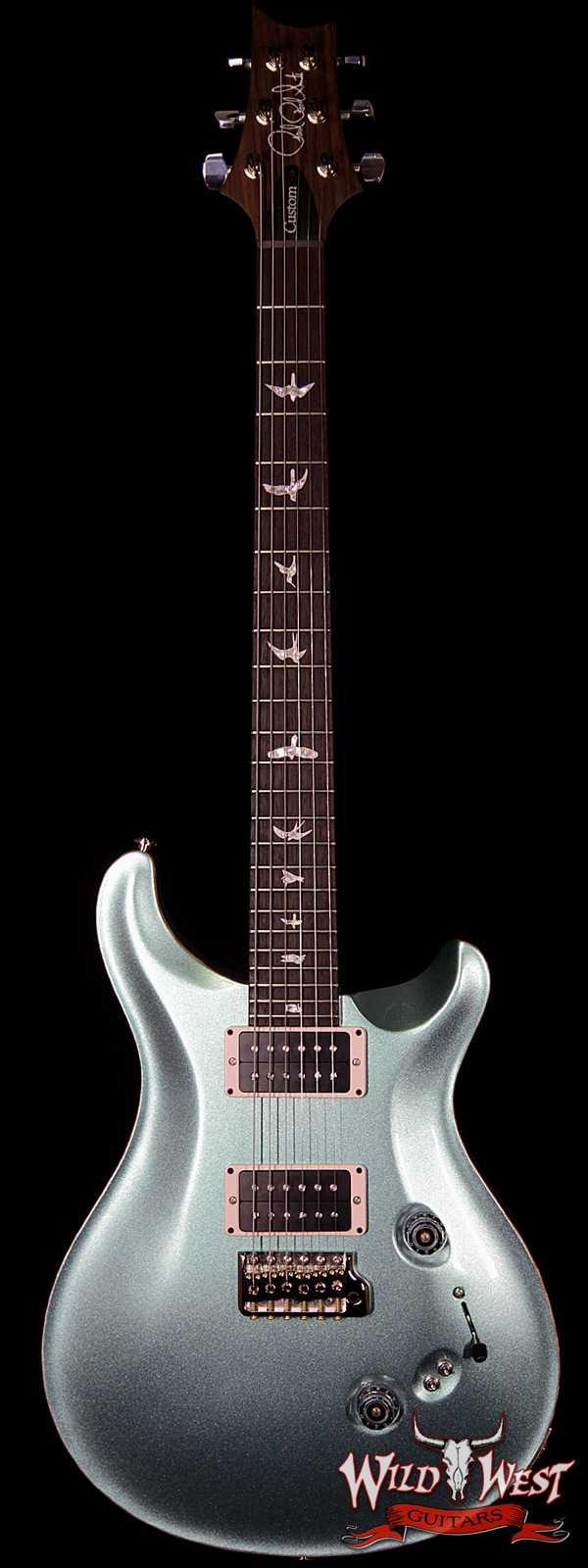 Paul Reed Smith PRS Custom 24-08 Rosewood Fingerboard Frost Blue Metallic