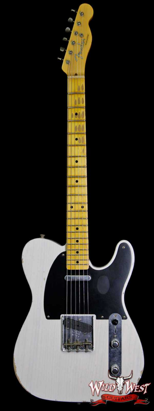 Fender Custom Shop 1952 Telecaster Relic Maple Neck White Blonde
